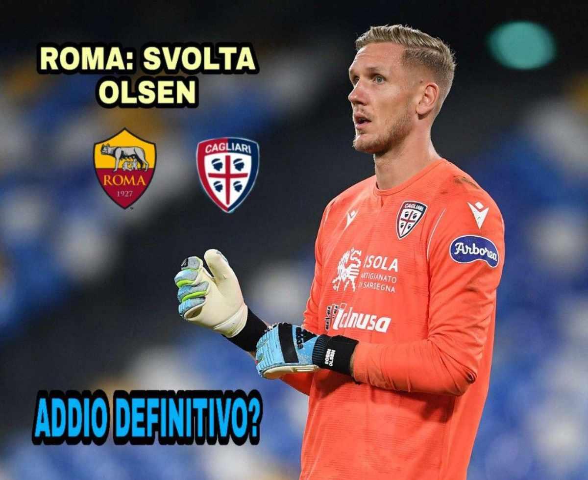 Roma: svolta Olsen, addio definitivo?
