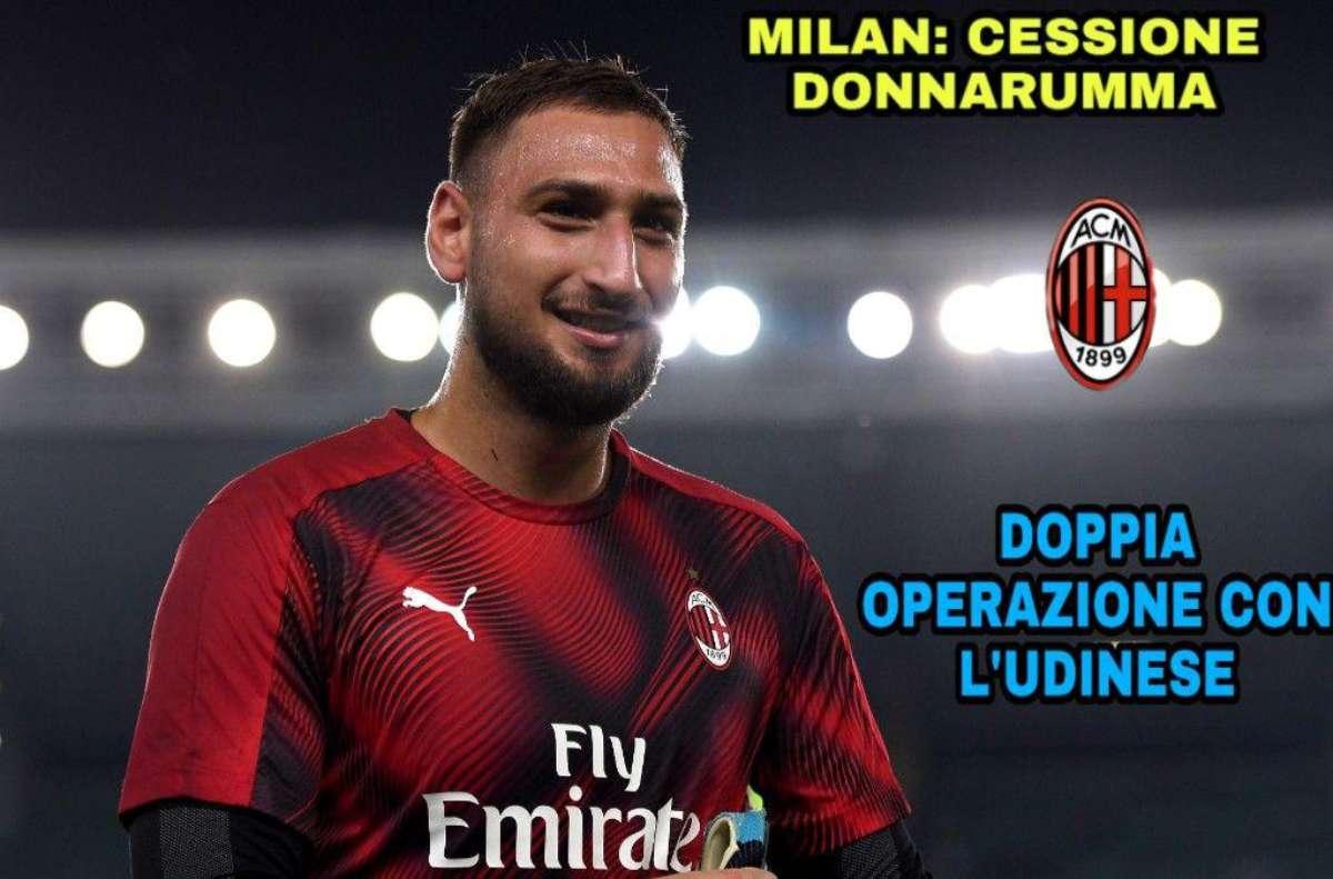 Milan: cessione Donnarumma, doppia operazione con l'Udinese