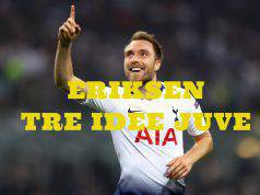 Calciomercato Juventus Eriksen Rabiot Emre Can Mandzukic Tottenham