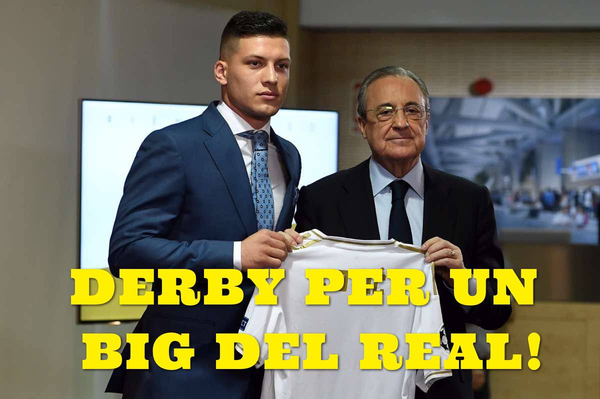 calciomercato Inter Milan Jovic Real Madrid