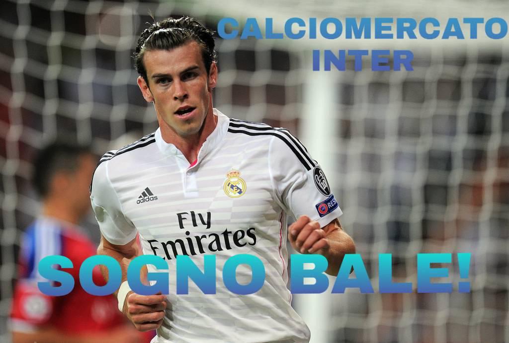 calciomercato inter sogno Bale