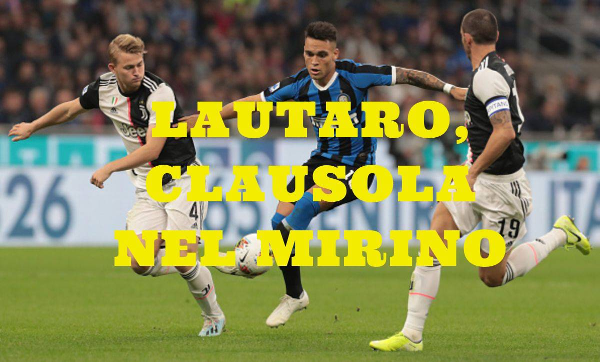calciomercato Inter rinnovo Lautaro Martinez Barcellona clausola