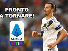 Ibrahimovic Serie A, pronto a tornare!