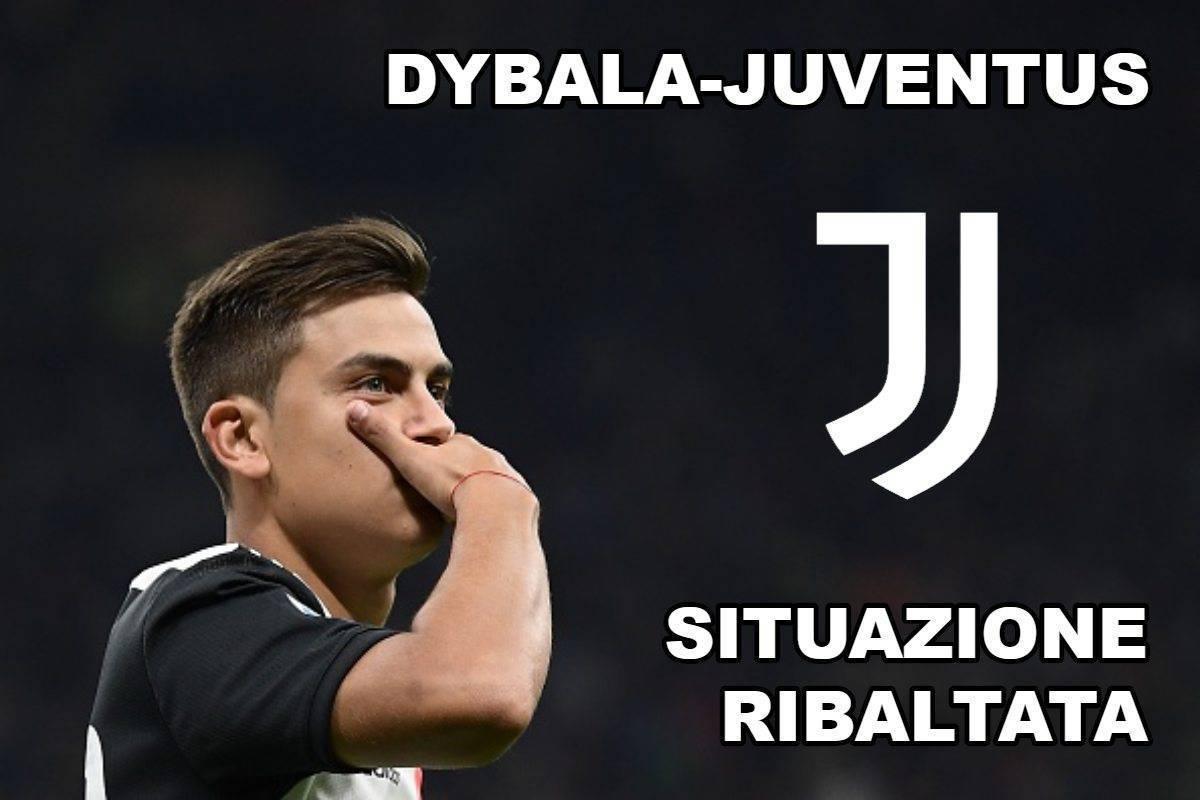Dybala-Juventus, situazione ribaltata
