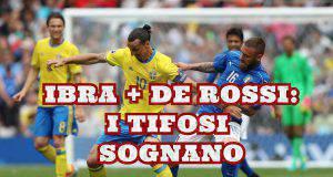 Ibrahimovic De Rossi Fiorentina Serie A