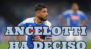 Calciomercato Insigne, Ancelotti ha deciso