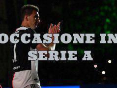 Mandzukic occasione in Serie A