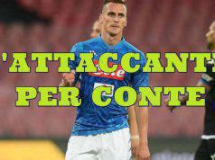 calciomercato inter milik napoli
