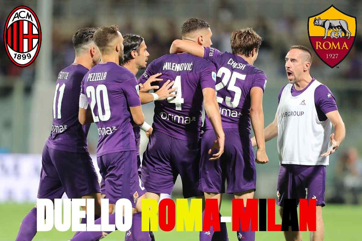 Calciomercato Roma Milan Milenkovic