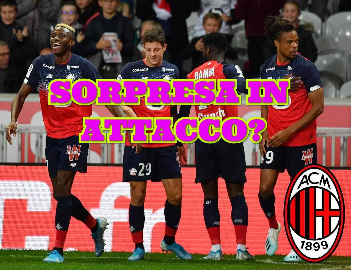 Calciomercato Milan Osimhen