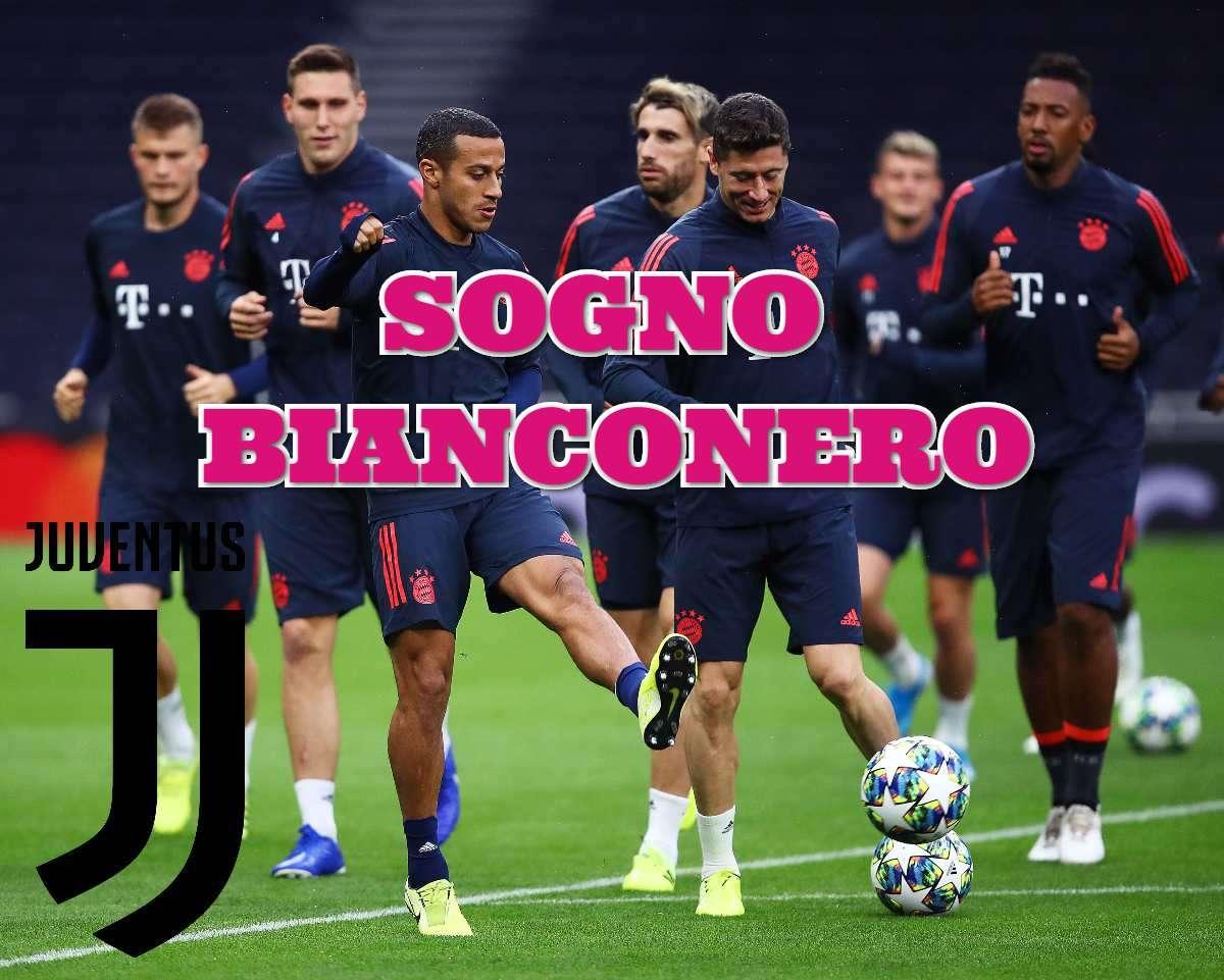 Calciomercato Juventus Thiago Alcantara