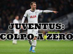 Eriksen Juventu: colpo a zero