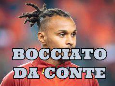 Inter Lazaro, bocciato da Conte