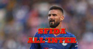 Calciomercato Roma vice Dzeko Giroud Lasagna Petagna