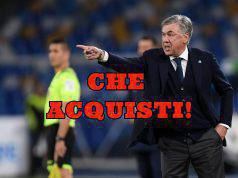 Carlo Ancelotti sogno del Milan: i possibili acquisti