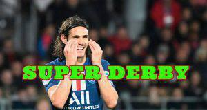 Cavani Inter Milan PSG