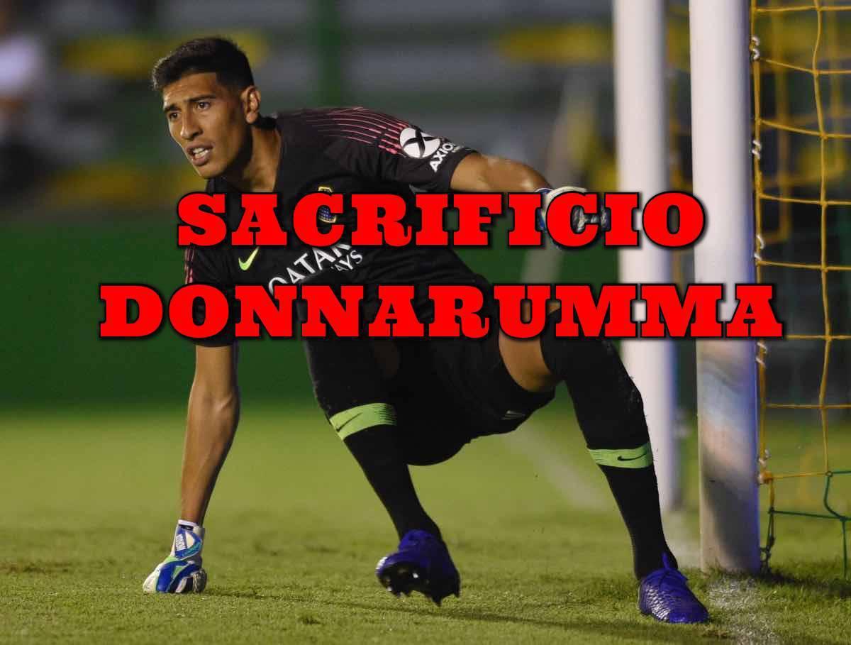 Calciomercato Milan Andrada Donnarumma PSG Boca Juniors