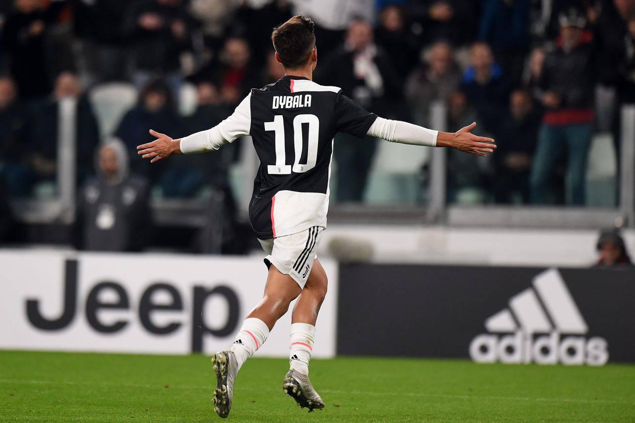 Dybala futuro Juventus