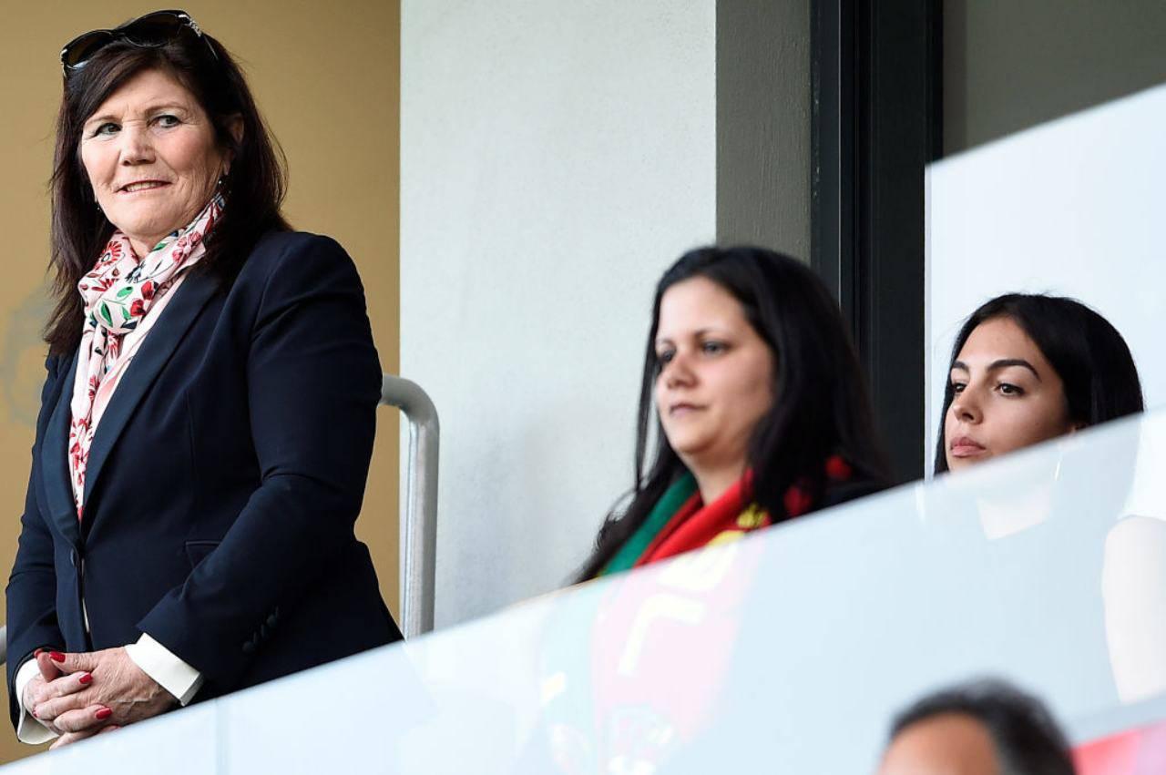 Dolores Aveiro, mamma di Cristiano Ronaldo, e Georgina Rodriguez