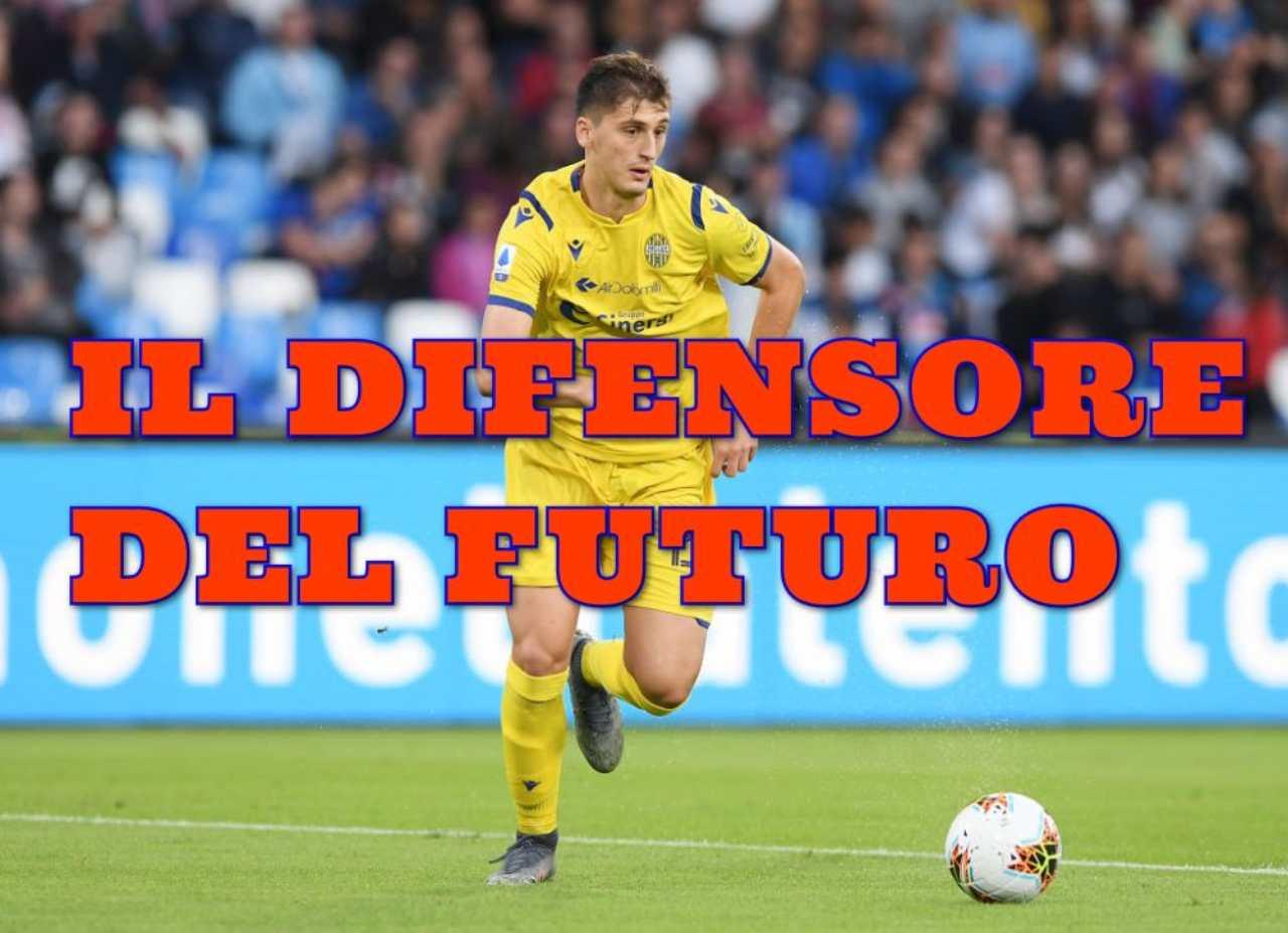 Juventus, idea Kumbulla per il futuro