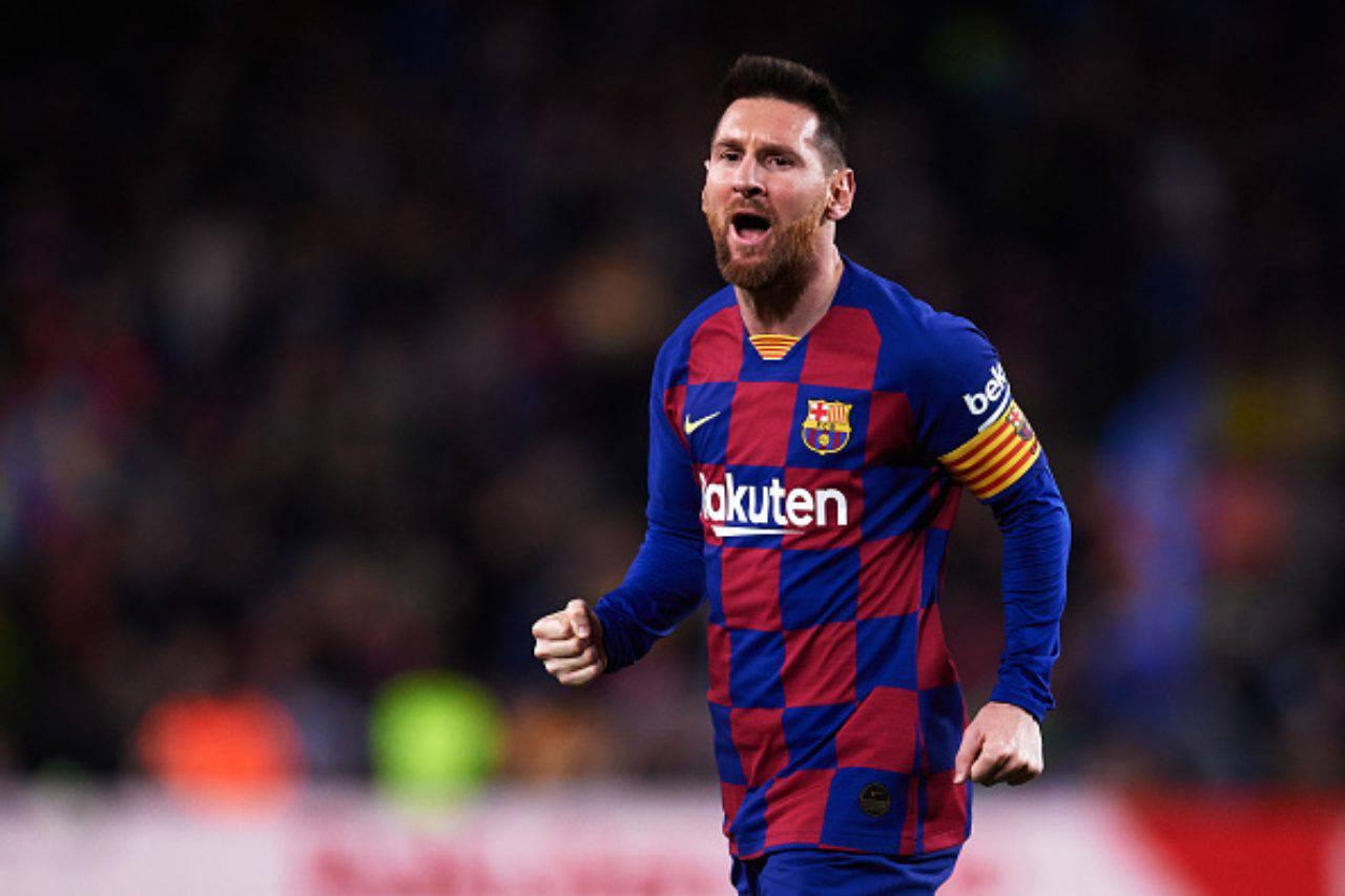 Calciomercato Milan Messi