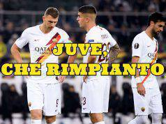Mancini Dzeko Roma Juventus