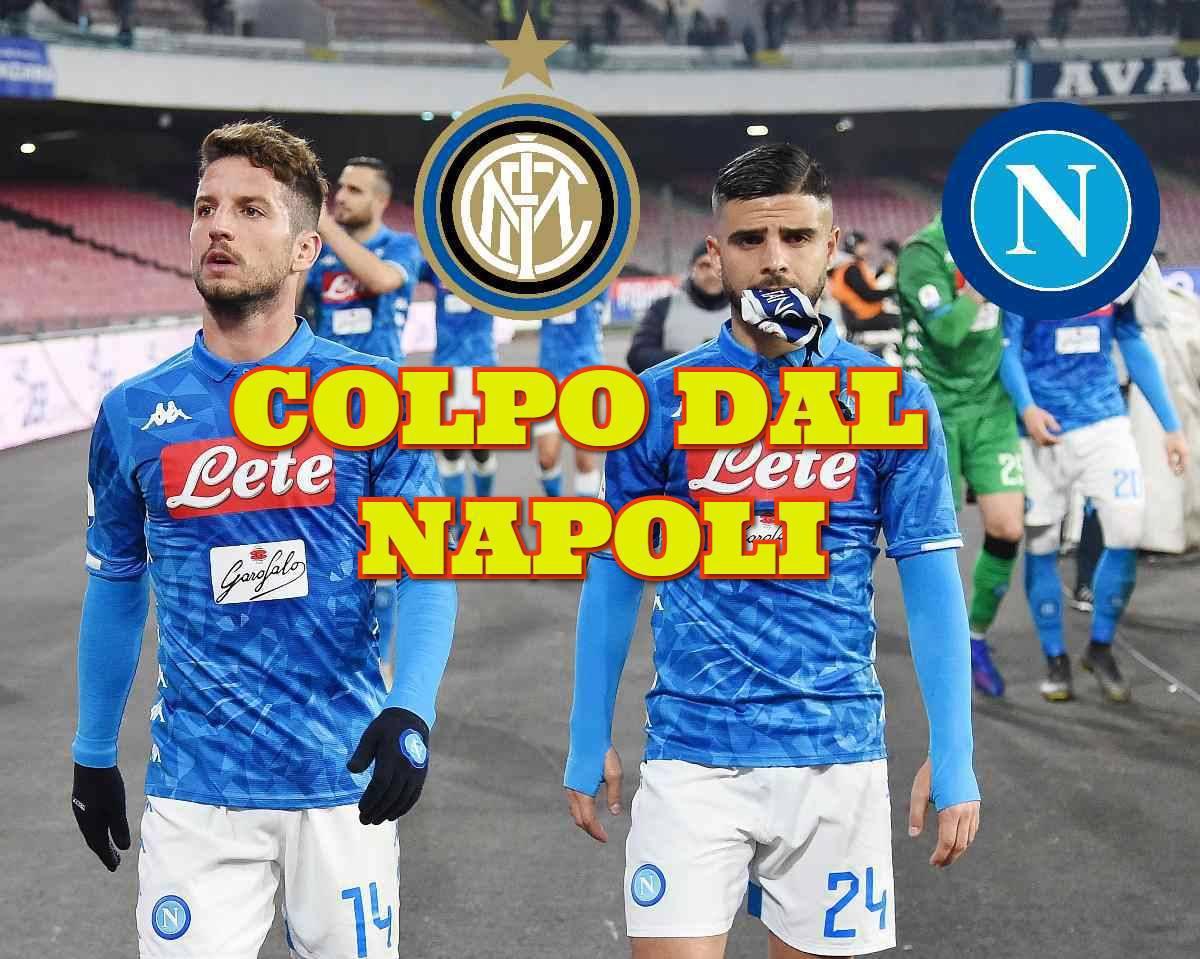 Calciomercato Inter Mertens Napoli