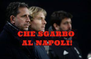 Paratici Nedved Agnelli Juventus Mertens