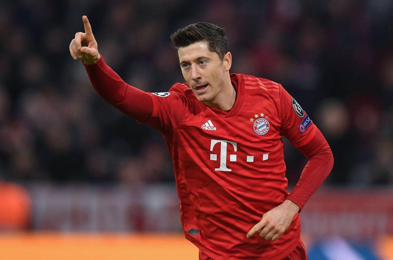 Robert Lewandowski Bayern Monaco
