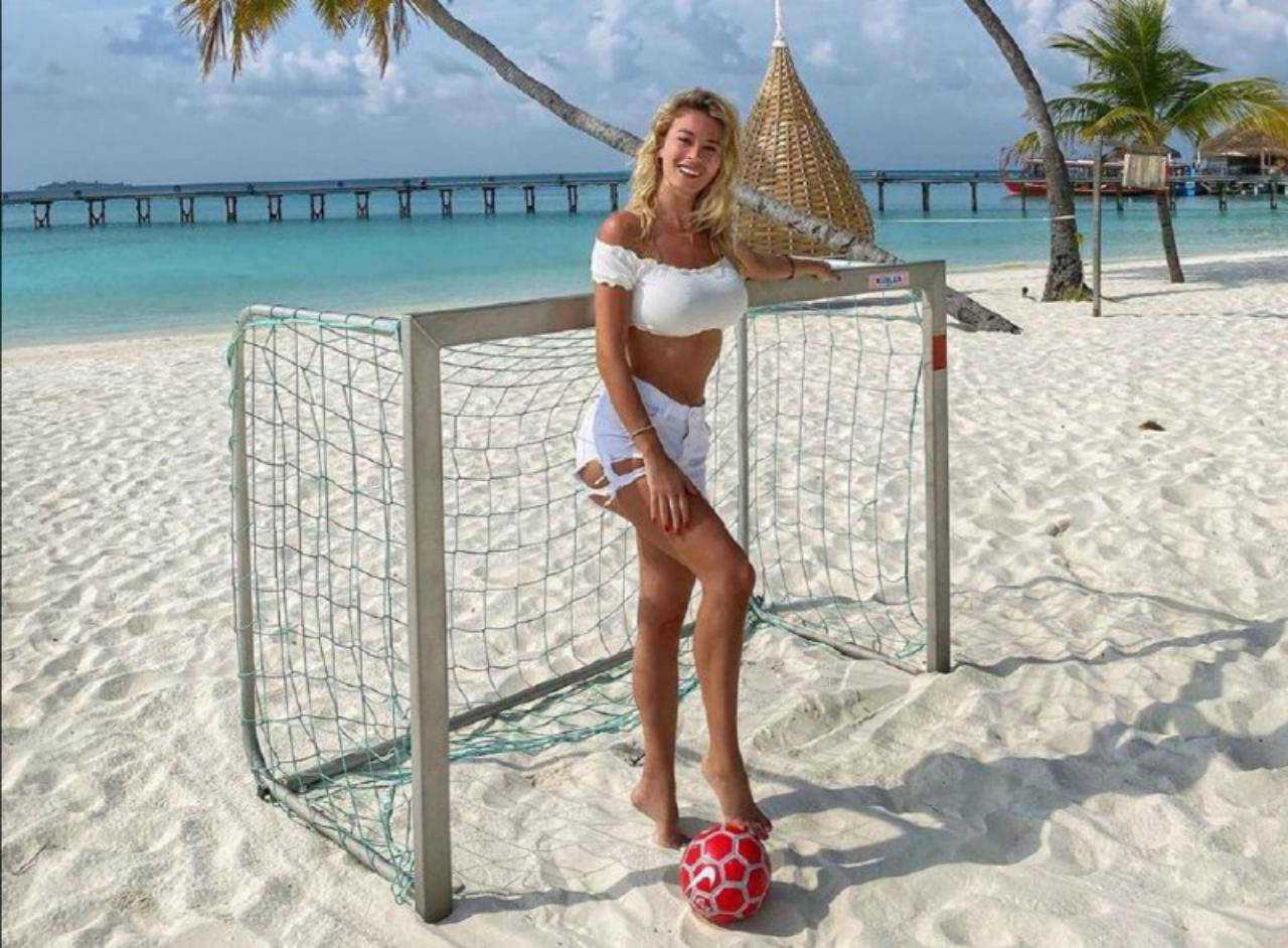 Diletta Leotta Maldive