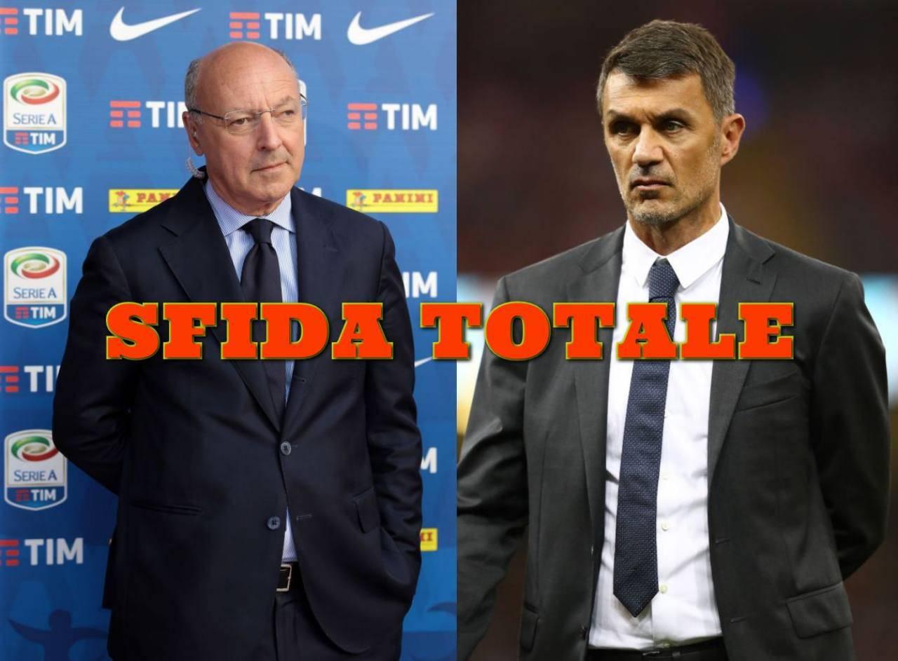 Inter Milan derby di calciomercato