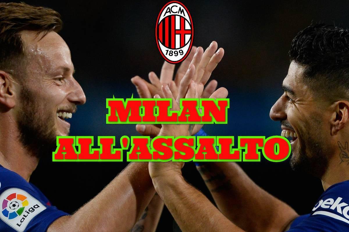 Calciomercato Milan Rakitic