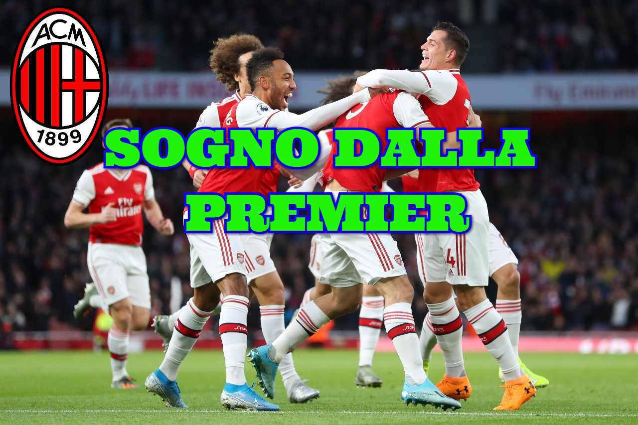 Calciomercato Milan Xhaka Torreira