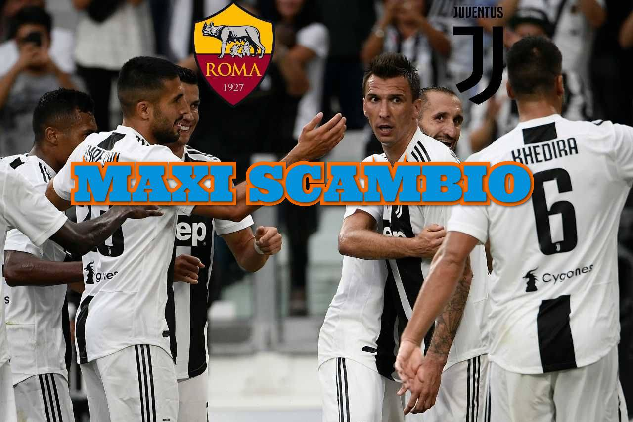 Calciomercato Juventus Roma Florenzi Mandzukic