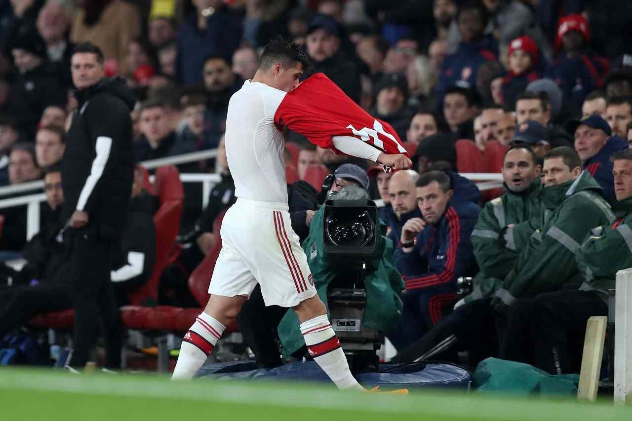 Calciomercato Inter, Barella ko torna a gennaio: Conte aspetta rinforzi, Marotta accelera per Xhaka dell'Arsenal