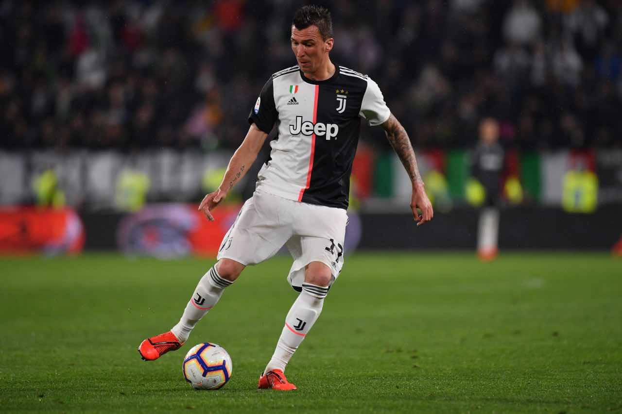 Calciomercato Milan Ibrahimovic Mandzukic Juventus