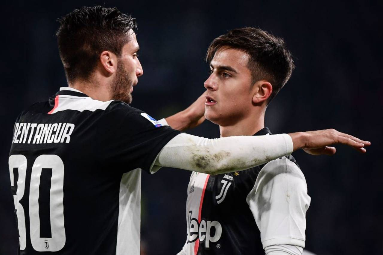 Bentancur e Dybala Juventus
