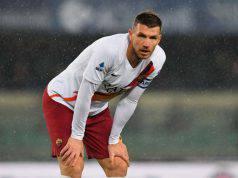 Inter-Roma, le condizioni di Edin Dzeko