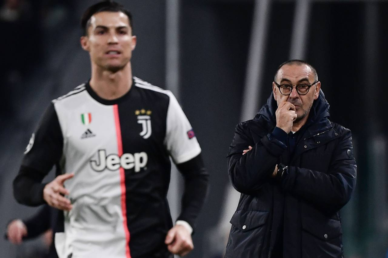 Juventus, Sarri e il problema Ronaldo