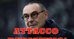 Juventus, Sarri umiliato da Damascelli