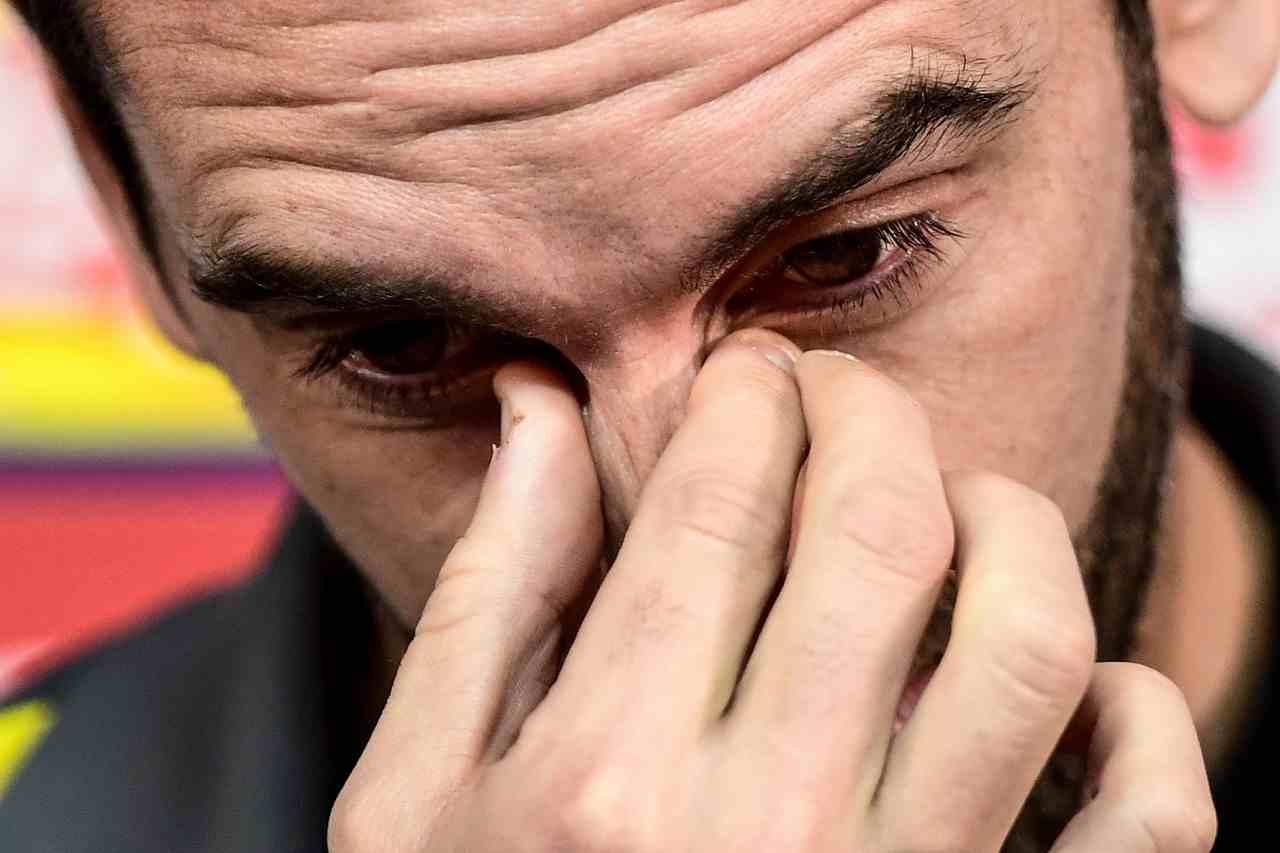 Calciomercato Inter dalla Spagna Godin vuole tornare all'Atletico Madrid a gennaio Idea Vertonghen del Tottenham di Mourinho per sostituirlo