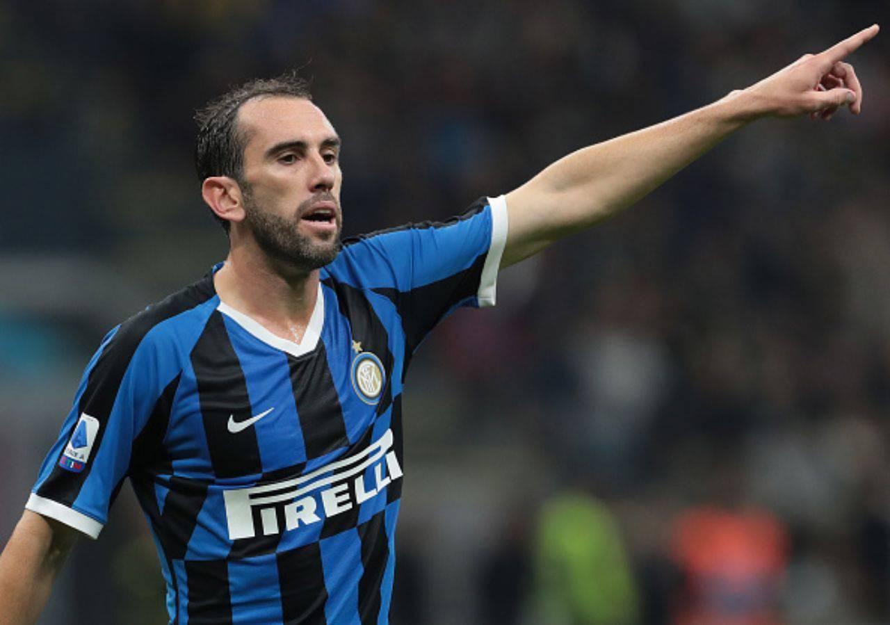 calciomercato inter godin tottenham mourinho eriksen