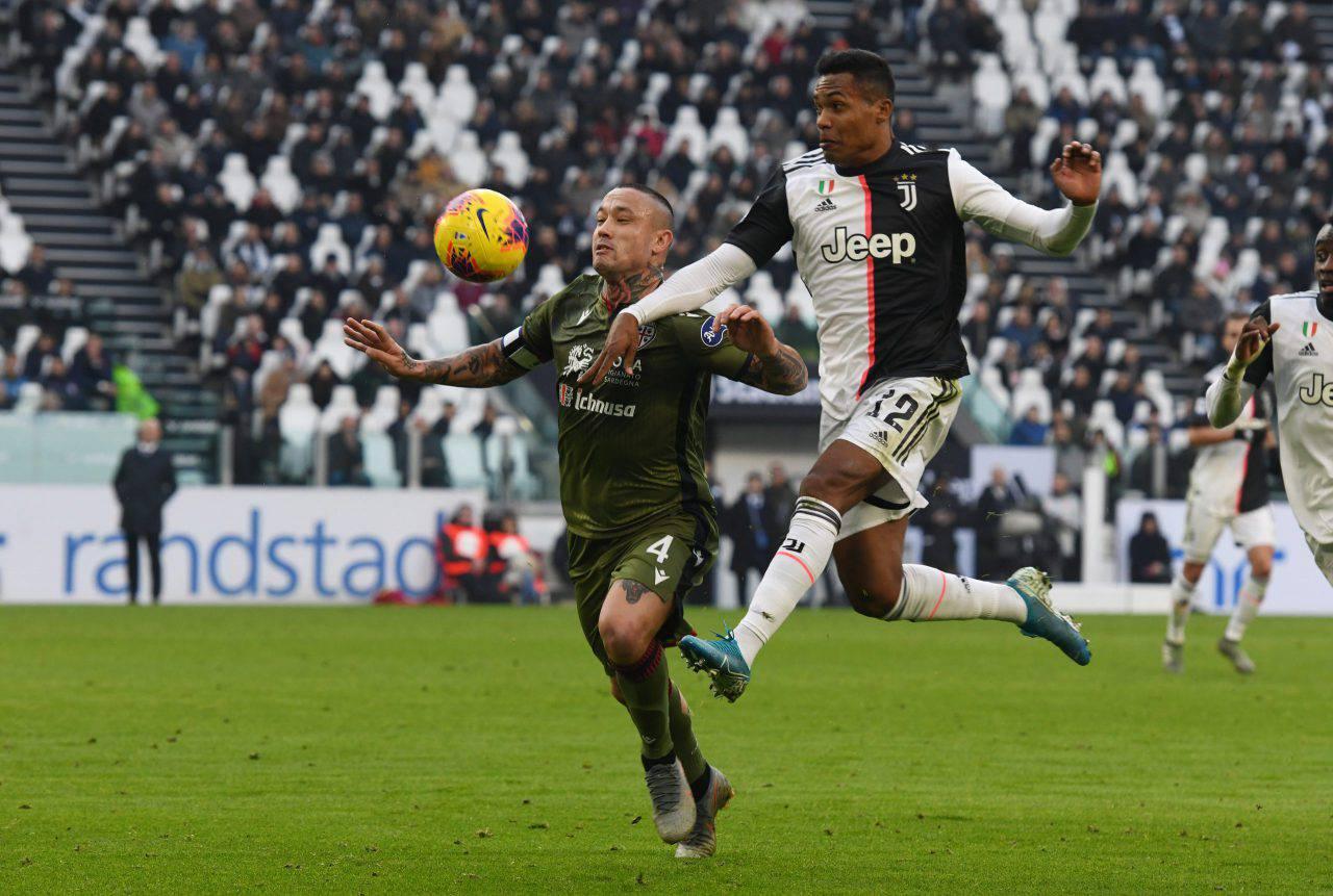 Alex Sandro addio Juve