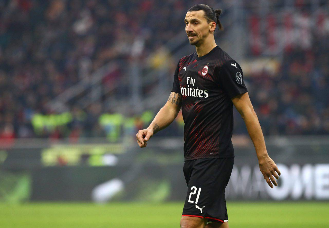 Calciomercato Milan Ibrahimovic Milik