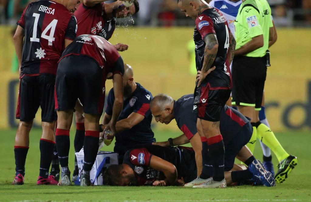 Infortunio Pavoletti, UFFICIALE: l'attaccante di nuovo ko