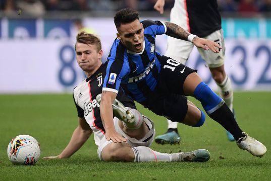 Juventus Inter Lautaro de Ligt
