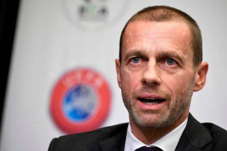 UEFA Ceferin Coronavirus