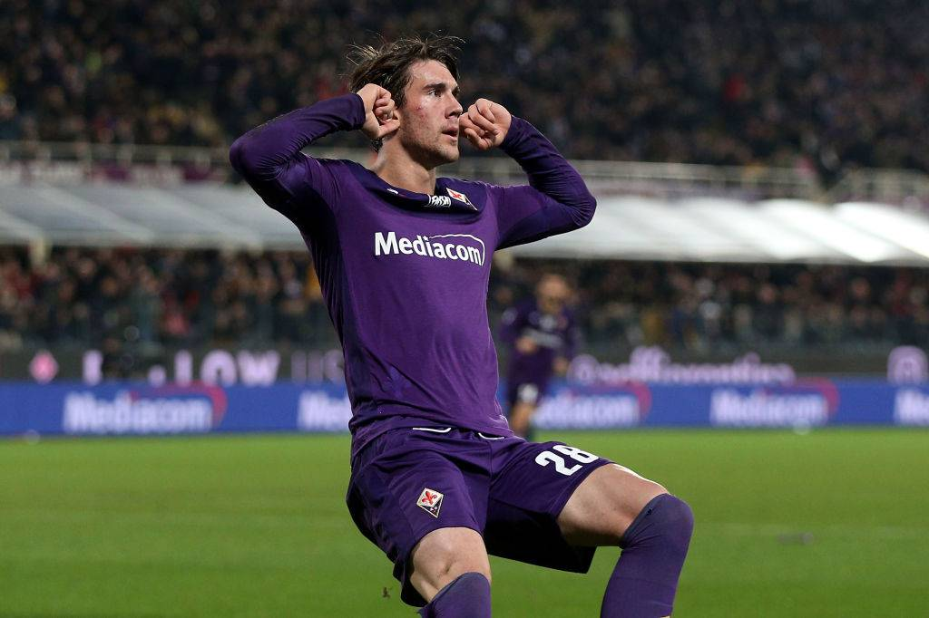 Fiorentina, Vlahovic positivo al Coronavirus