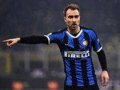 calciomercato inter eriksen Real Madrid