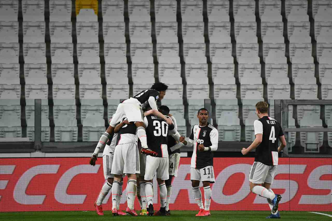 Juventus Inter Serie A coronavirus ipotesi playoff